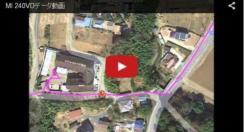小型GPSルートデータ