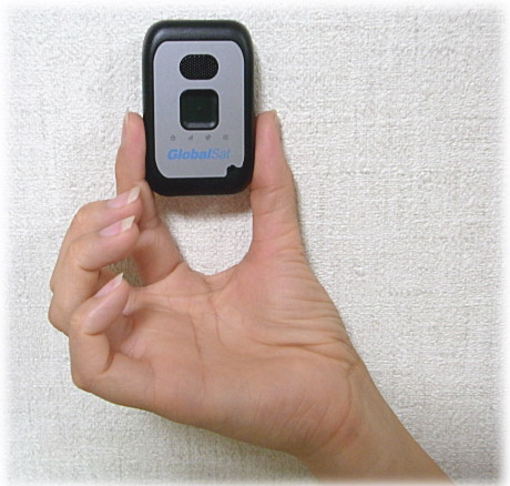 高性能小型GPS発信機
